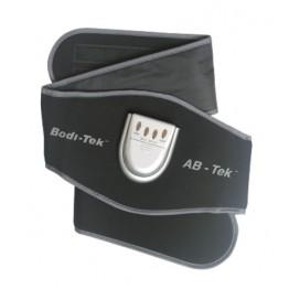 Bodi-Tek Ab-Tek Ab Workout & Toning Belt Black