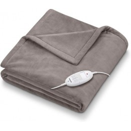 Cosy Heated Over Blanket  Taupe