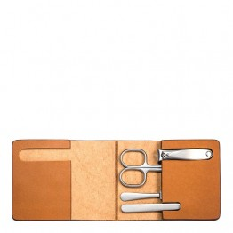 Mens Manicure Set With High Quality Leather Case