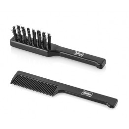Moustache Brush and Comb Set