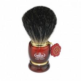 Mock Tortoiseshell  and Pure Badger Shaving Brush