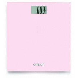 Omron Digital Personal Scale in Pink Blossom