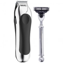 Shave and Trim Set in Silver